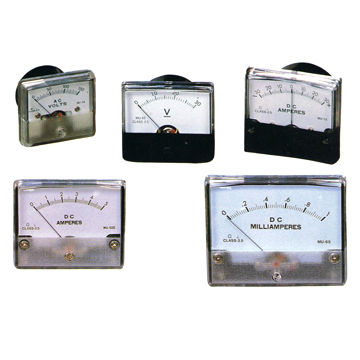 Display Panel Meter for Measuring Voltage, Current, Power and Frequency