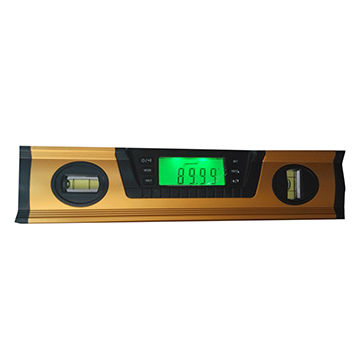60cm 24-inch level with 2 bubbles & digital level & measuring tools