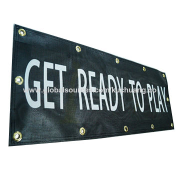 Economic printing net mesh banner for outdoor promotion