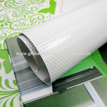 UV one way vision self-adhesive vinyl