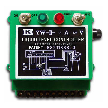 Liquid Level Controller with High Sensitivity and Counteract Wave Disturbance Function
