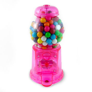 Translucent Acrylic Gumball Machine, Available in Various Colors