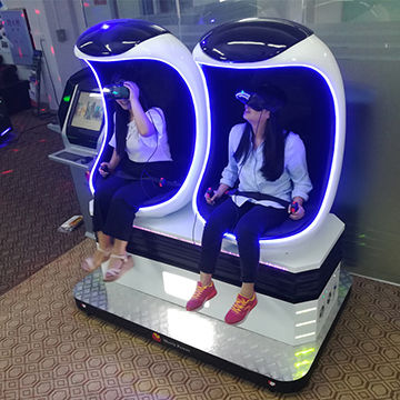 Entertainment Product 9D VR Egg Cinema VR Game Simulator with Gun Shooting