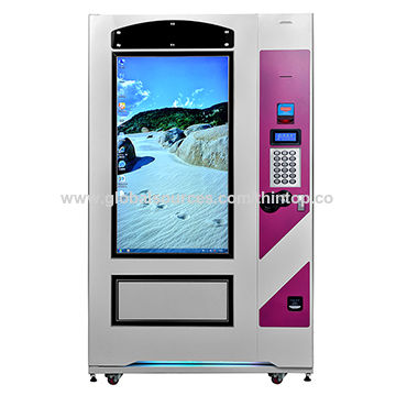 Automatic vending machine for snack